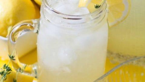 Spring Thyme Lemonade - Real Housemoms