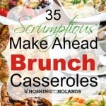 35 Scrumptious Make Ahead Brunch Casseroles Collage square (Custom) (Small)