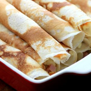 MWM Egg, Ham and Cheese Crepes