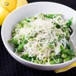 Fresh Asparagus Pea Lemon Pasta 480x480