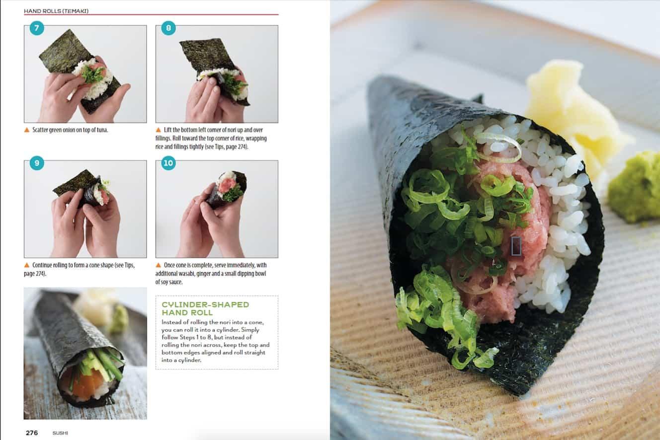 Toro Green Onion Hand Roll