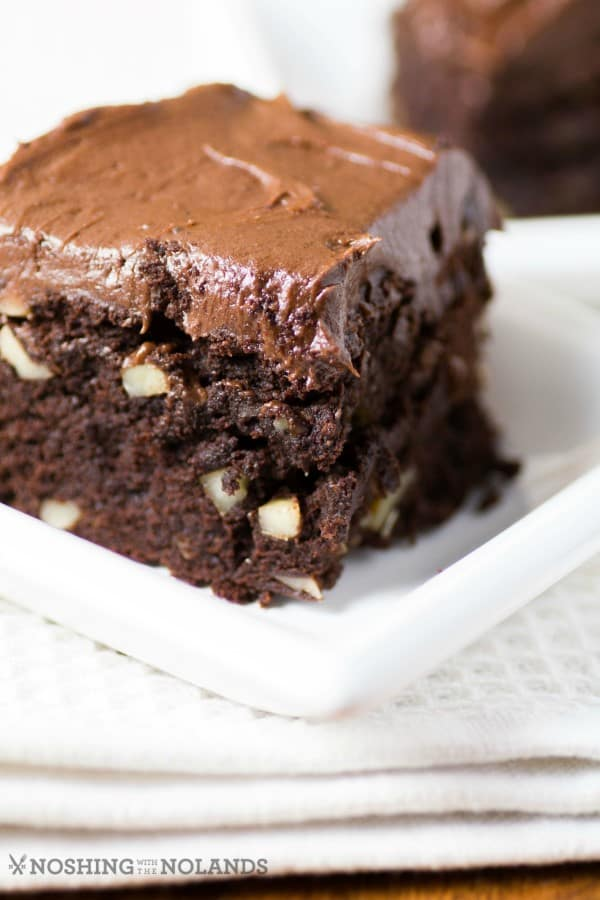Close up of Best Ever Easy to Make Brownies