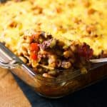 Cheesy Sloppy Joe Macaroni Casserole 480x480
