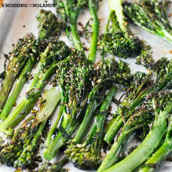 Garlic Roasted Broccolini square