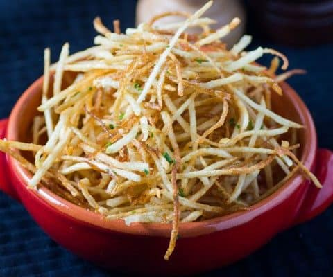 Copycat Ruth's Chris Shoestring Fries