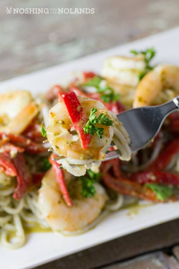 Shrimp and Pesto with Red Peppers 4 (Custom)