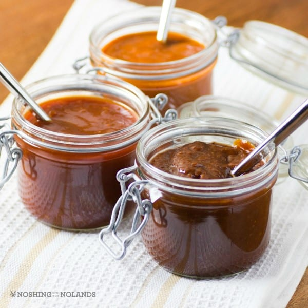 Homemade BBQ sauce recipes using spices from a ShelfGenie spice cabinet
