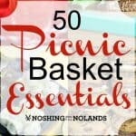 50 Picnic Basket Essentials Collage square (Small)