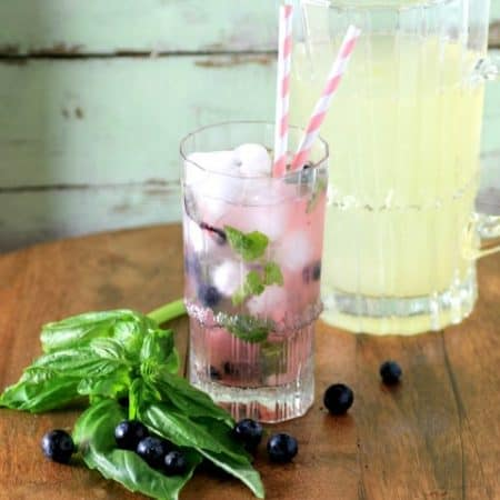 Blueberry Basil Lemonade by Noshing With The  Nolands 480x480