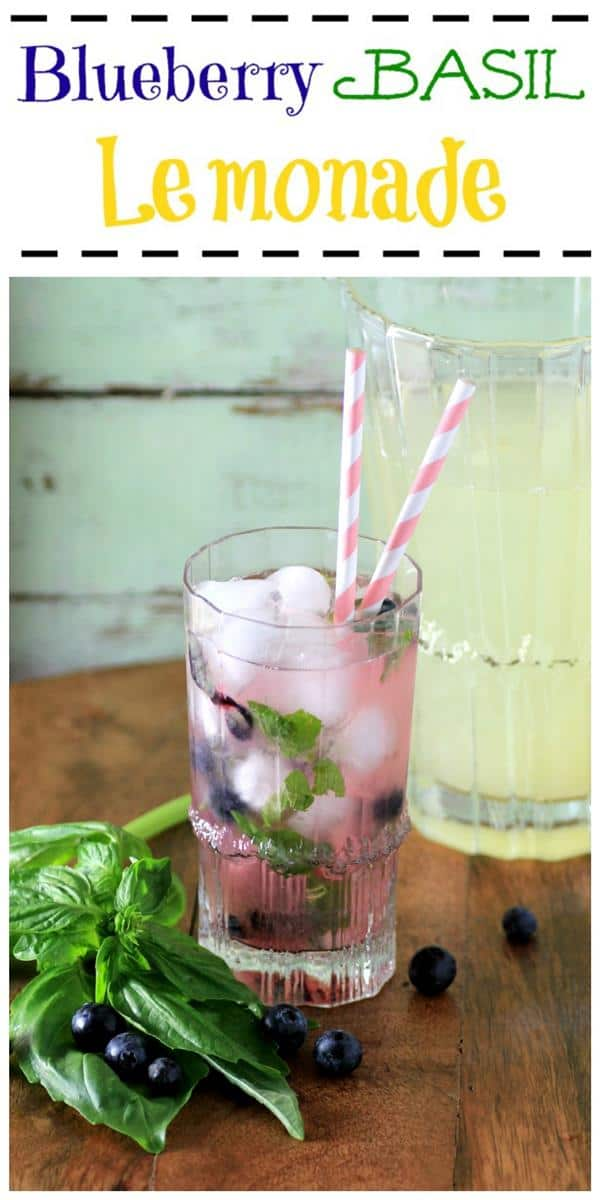 MWM Blueberry Basil Lemonade