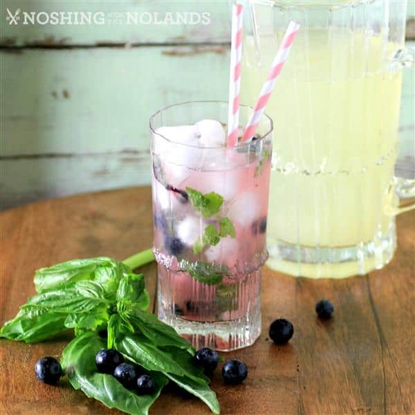 MWM Blueberry Basil Lemonade