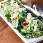 Caramelized Pear, Pecan, Gorgonzola Noodle Salad  480x480