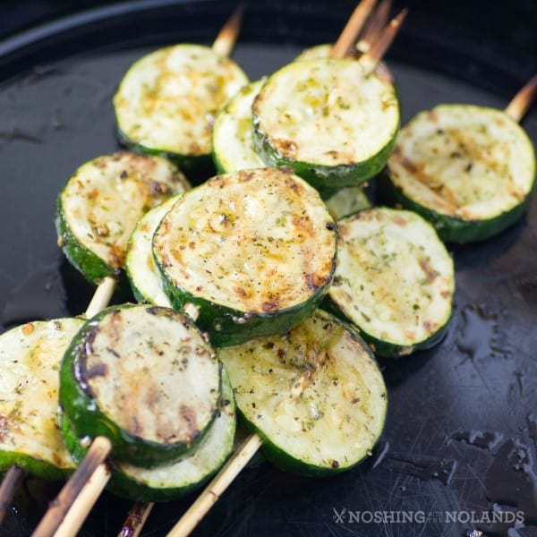 Grilled Zucchini Pops