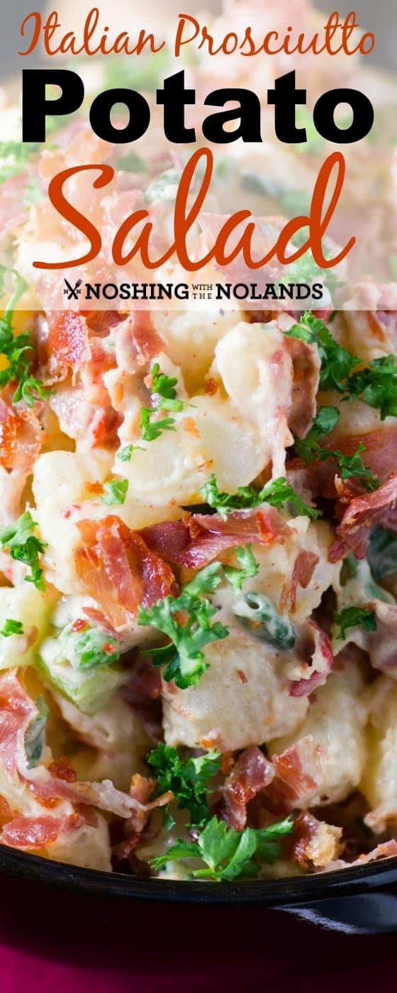 Italian Prosciutto Potato Salad Single Pin