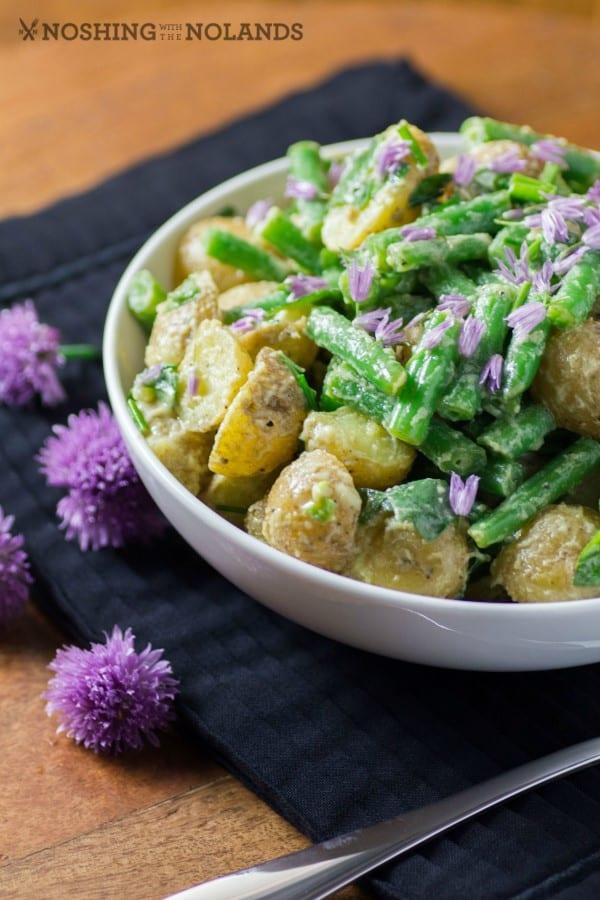 Little Potato Green Bean Salad