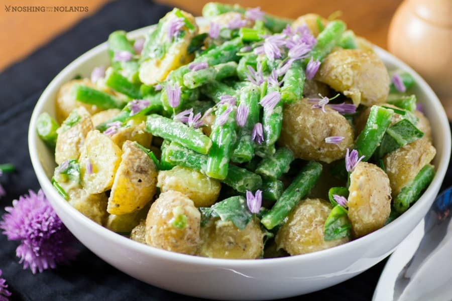 Little Potato Green Bean Salad