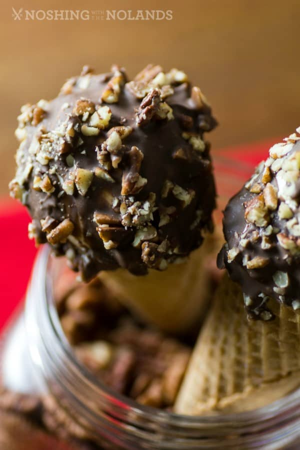 Pecan Coated Homemade Drumsticks