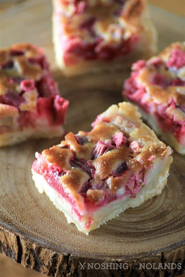 Rhubarb Dream Squares by Noshing With The Nolands
