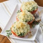 Spinach Artichoke Stuffed Tomatoes 480x480
