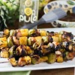 Bacon Wrapped Chicken and Pineapple Skewers 480x480