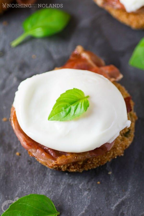 Italian Arancini Prosciutto Eggs 3 (Custom)