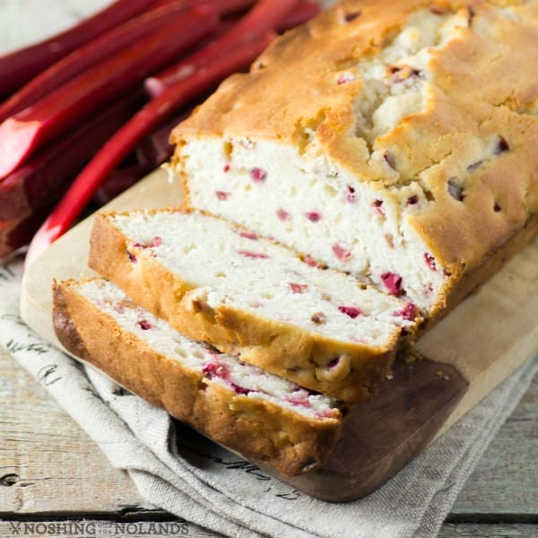 Old Fasioned Rhubarb Loaf To Use Up All You Grow In Your