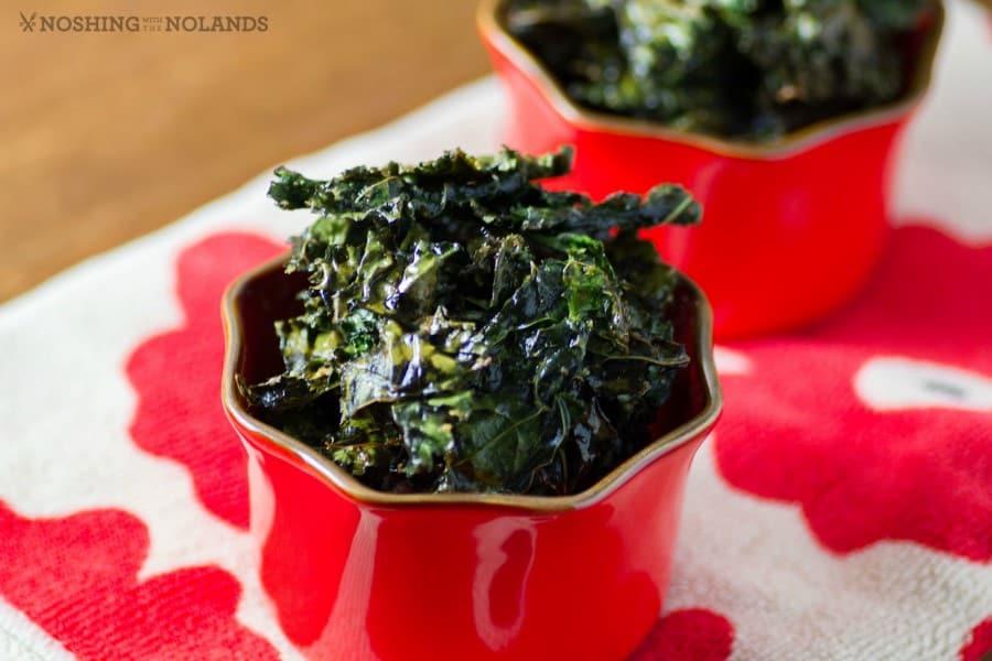 Parmesan Kale Chips