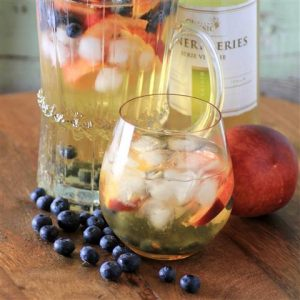 MWM Peach Blueberry Sangria