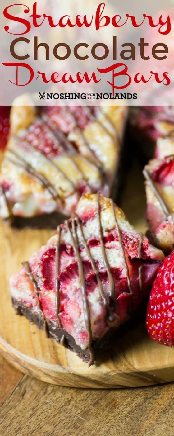 Strawberry Chocolate Dream Bars