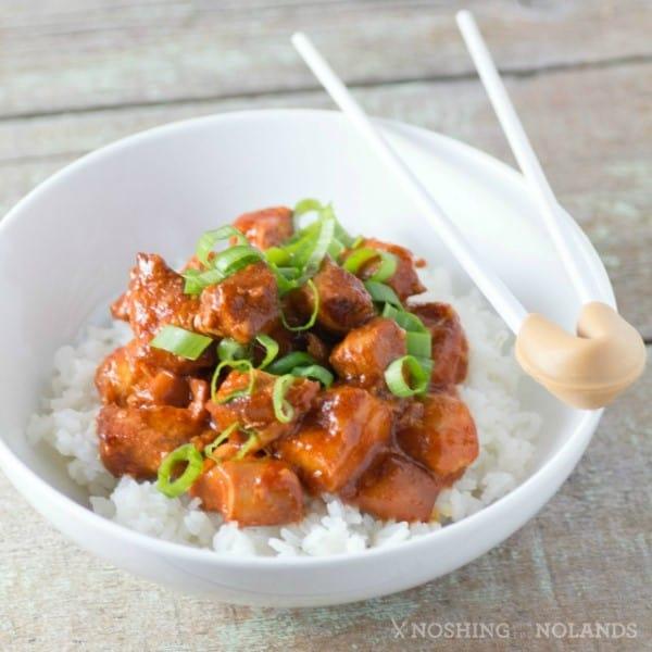 Crock Pot Honey Sriracha Chicken square (Custom)