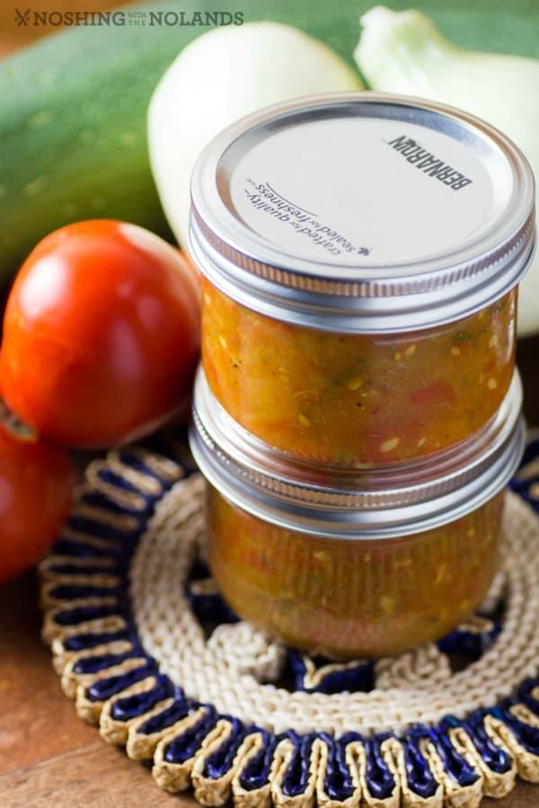 Garden Fresh Zucchini Salsa