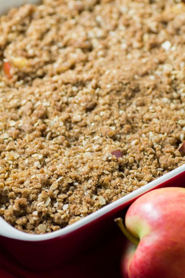 Overnight Streusel Apple Cinnamon French Toast