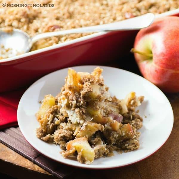 Overnight Streusel Apple Cinnamon French Toast