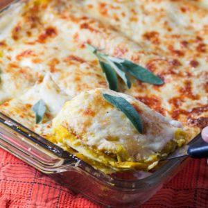 Sage Havarti Butternut Squash Lasagna