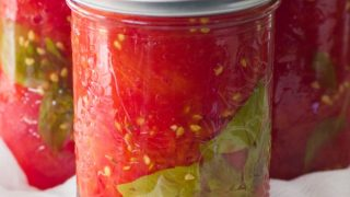 Simple Easy Homemade Canned Tomatoes
