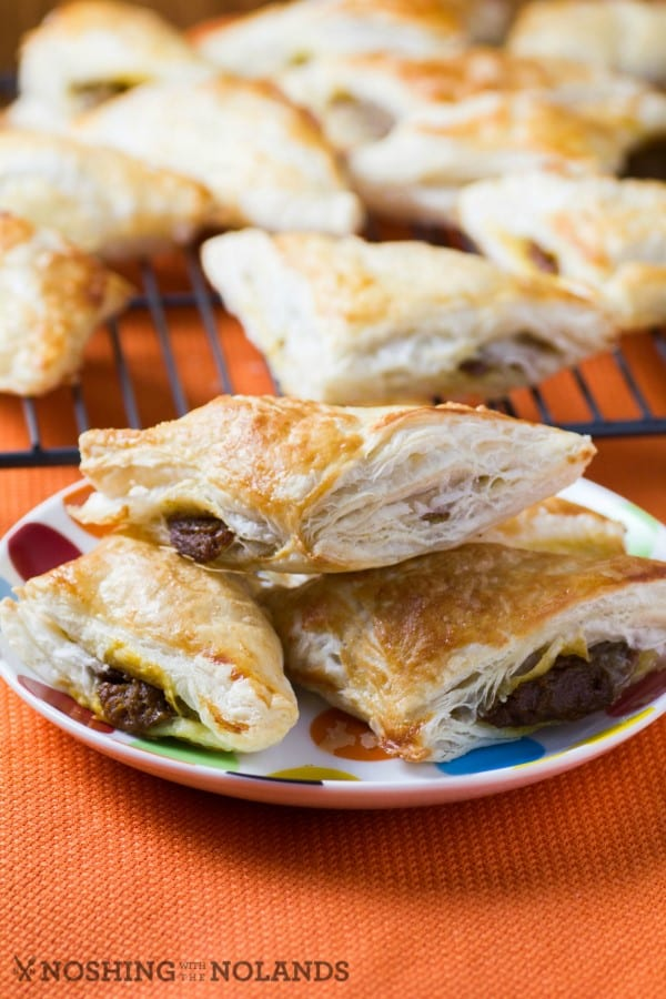 Sweet Spiced Pumpkin Turnovers