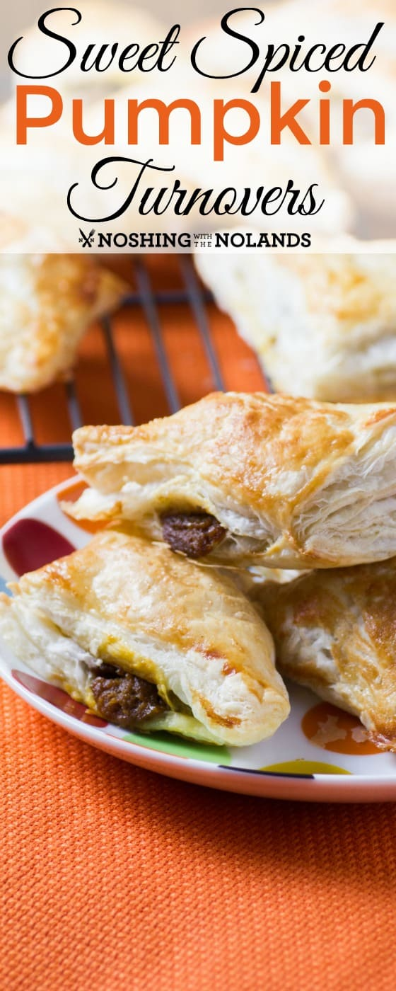 Sweet Spice Pumpkin Turnovers