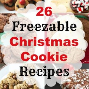 MWM 26 Freezable Christmas Cookie Recipes