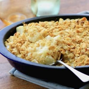 MWM Cheesy Cauliflower Fennel Casserole
