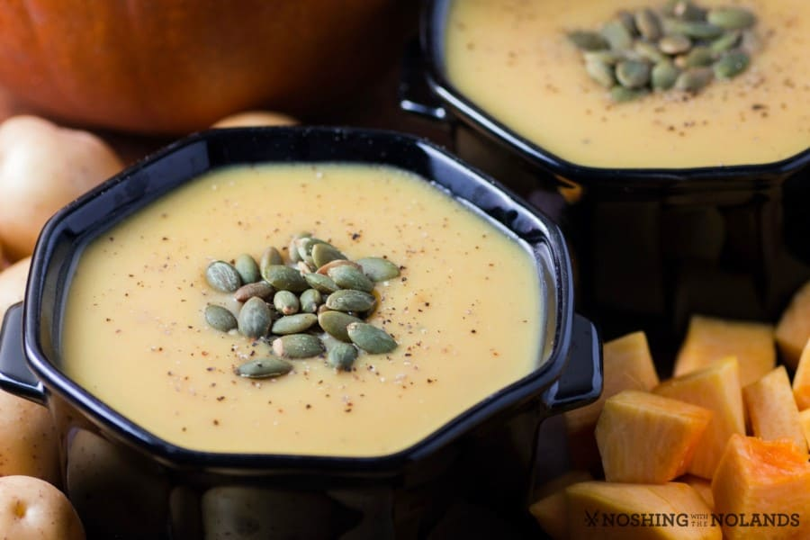 Creamy Little Potato Pumpkin Soup