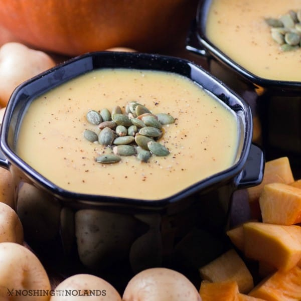 Creamy Little Potato Pumpkin Soup