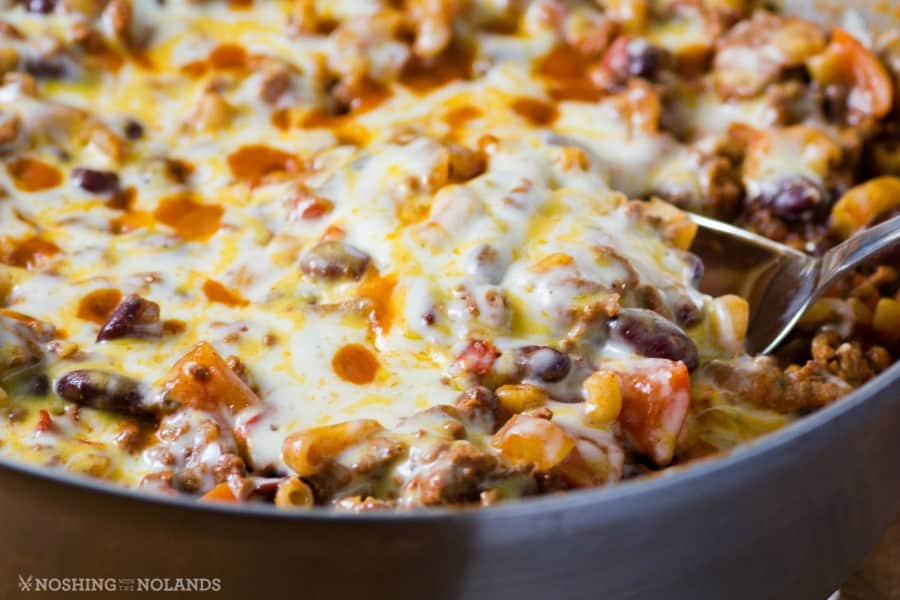 Easy Chili Mac Skillet Dinner