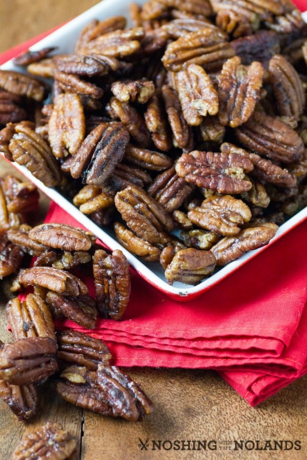 Stovetop Spiced Pecans