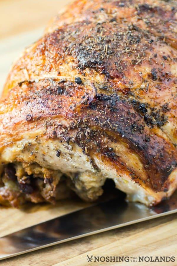 Stuffed Roasted Turkey Breast