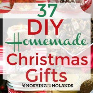 37 DIY Homemade Christmas Gifts