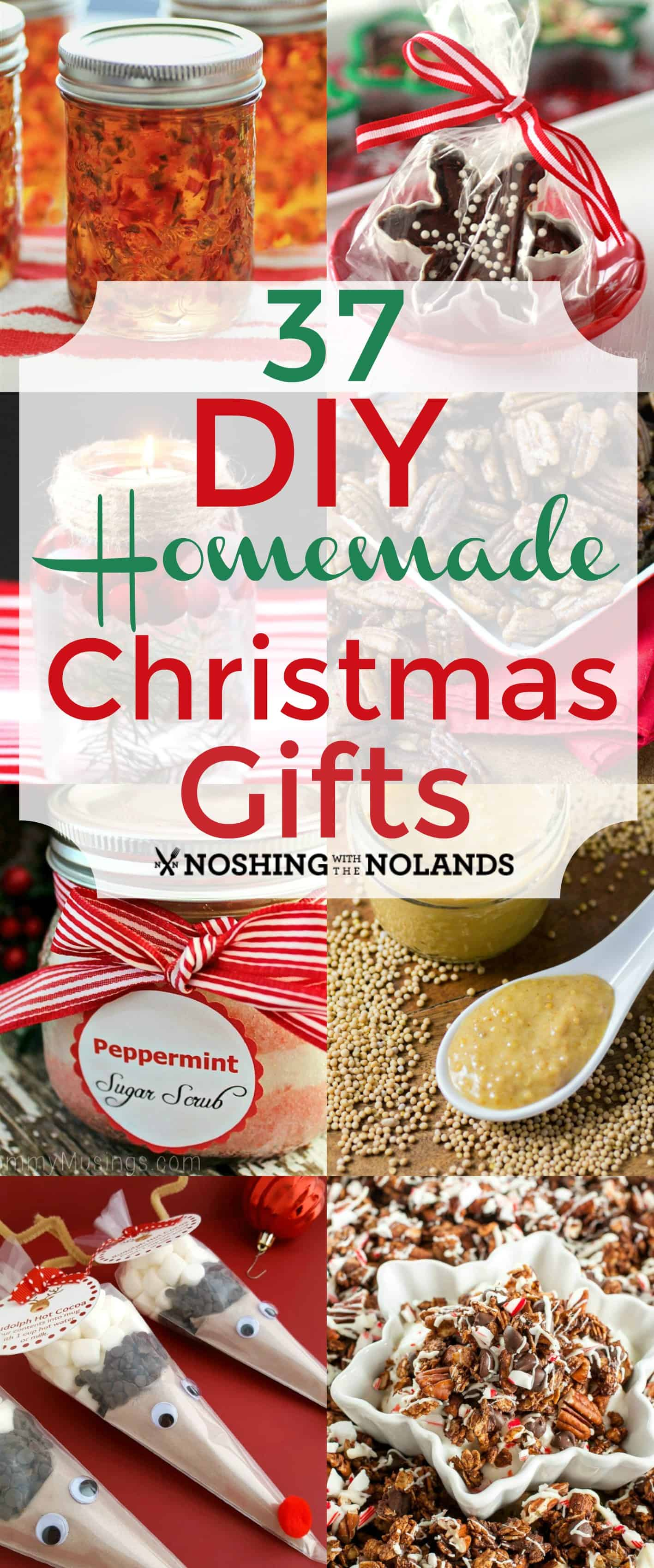 37 DIY Homemade Christmas Gifts