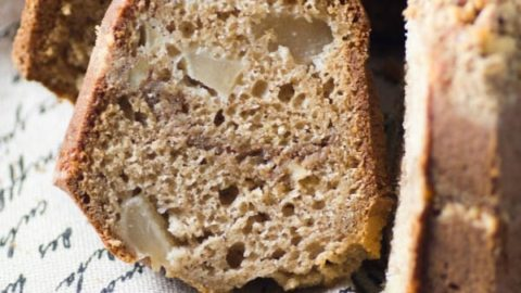 Pear Streusel Crunch Cake #BundtBakers