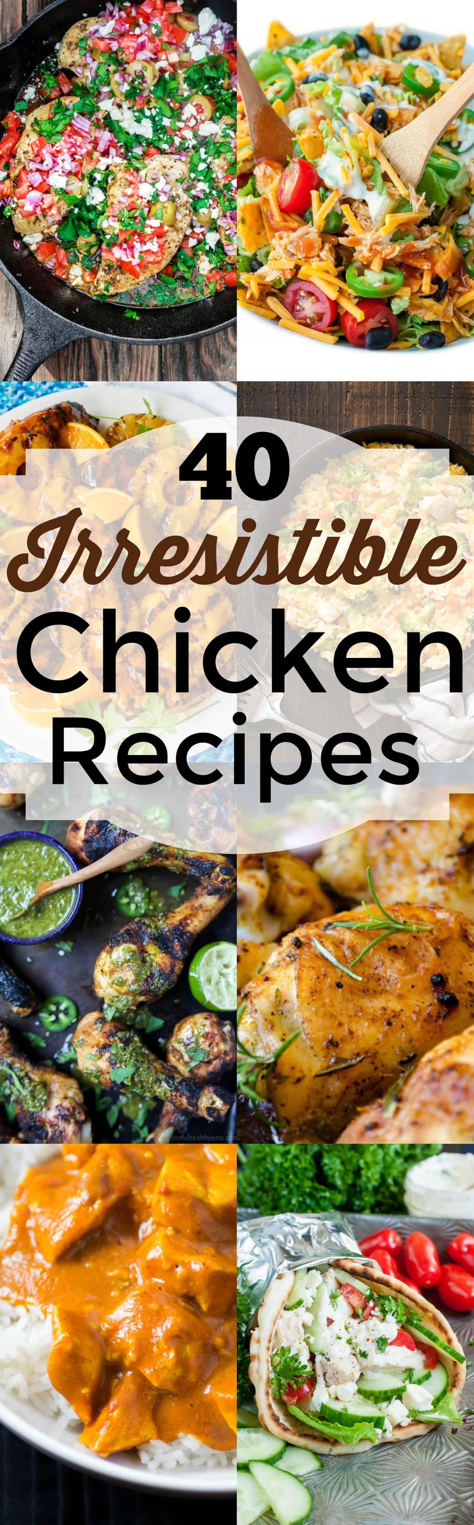 40 irresistible chicken recipes one pot creamy lemon chicken pasta with baby kale by spoonful of flavor forumfinder Choice Image