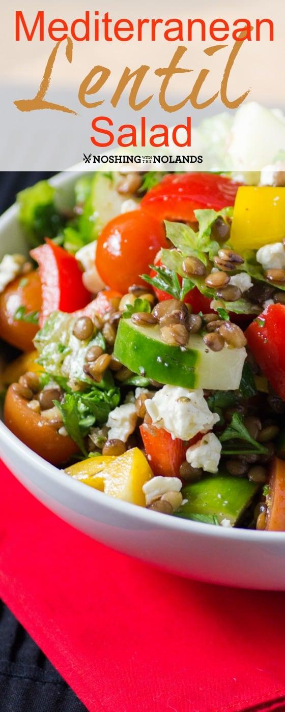 Mediterranean Lentil Salad