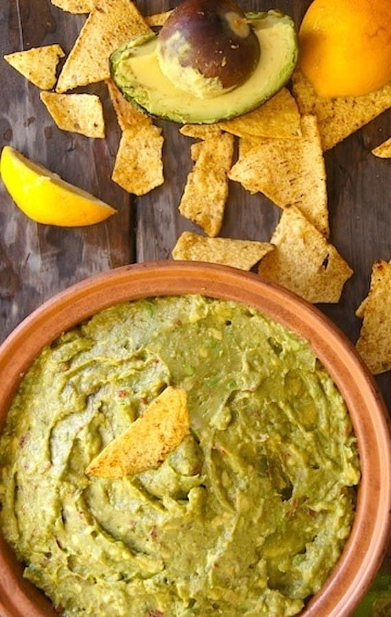 Smoky Lemon Chipotle Guacamole by Cooking on the Weekends